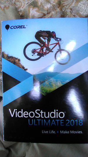 Corel Video Studio Ultimate 2018. Brand New for Sale in Colorado Springs, CO