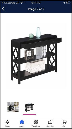 Convenience Concepts Diamond 1 Drawer Console Table for Sale in Laurel, MD