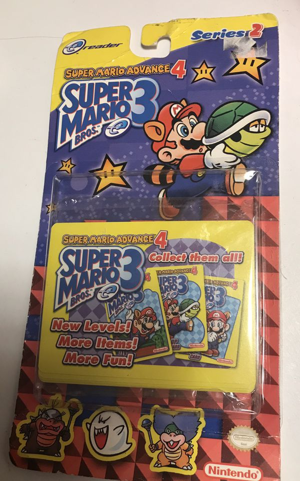 Super Mario Advance 4 unopened