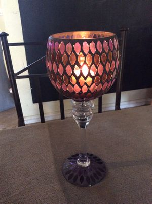 Candle Holder Goblet for Sale in Buena Park, CA