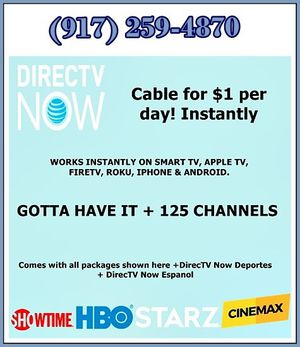 get instant cable right now for Sale in New York, NY
