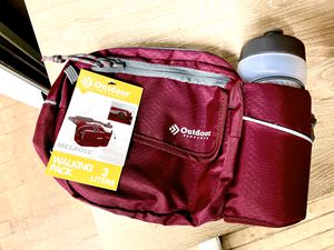 BELT BAG / FANNY PACK WITH WATER BOTTLE HOLDER for Sale in Chicago, IL