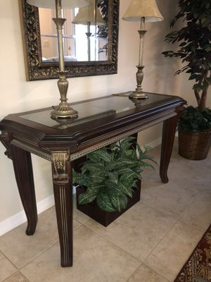 Sofa table for Sale in New Port Richey, FL