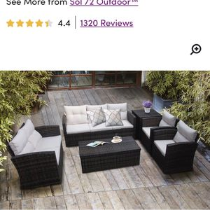 6 Piece Sofa Seating Group with Cushions for Sale in Philadelphia, PA