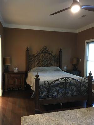 Queen bedroom set w/mattress for Sale in Richmond, VA