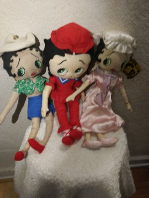 Vintage Betty Boop Kelly toy collection for Sale in Raleigh, NC