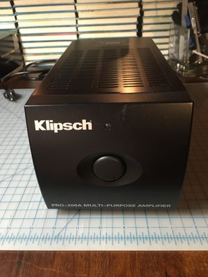 Klipsch PRO-200A for Sale in Chicago, IL