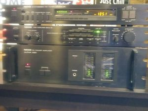 Nikko Vintage Audio Equipment - Alpha 220 Power Amplifier - Beta 30 preamp - Gamma 20 Tuner for Sale in Oak Park, MI