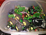 Toy tractors and toy cars for Sale in Fitzgerald, GA