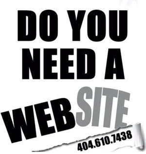 Website Design and Custom Logo for Sale in Atlanta, GA