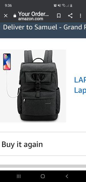Tigernu laptop backpack for Sale in Grand Prairie, TX