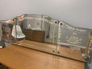 Antique vintage Vanity/banquet mirror for Sale in Cincinnati, OH