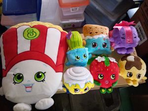 Shopkins Plush Lot of 7 for Sale in Perris, CA