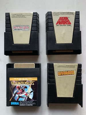 Atari 400/800/XE Games - Star Wars, Gyruss, Buck Rogers for Sale in Federal Way, WA