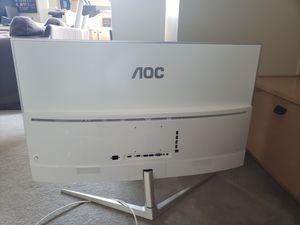 AOC LED 40 class curved monitor - C4008VU8 for Sale in Bellevue, WA