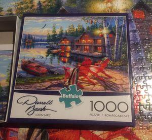 Darrell Bush - Loon Lake 1000 Pc Puzzle for Sale in Laguna Beach, CA
