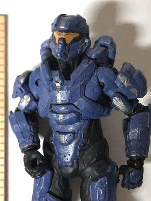 "Halo solder blue McFarlane 6"" tall Spartan Soldier MARK VI Action for Sale in Kirkland, WA"