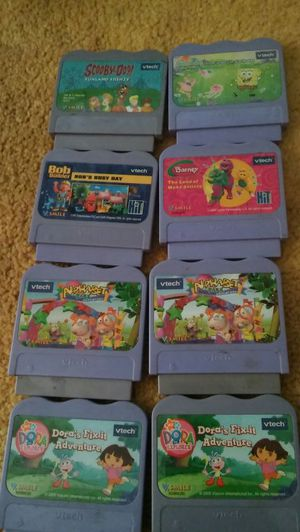 VTECH GAMES, all 4 $10 for Sale in Bakersfield, CA