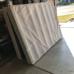 Clean Serviceable Box Springs ....Free for Sale in Hanford, CA