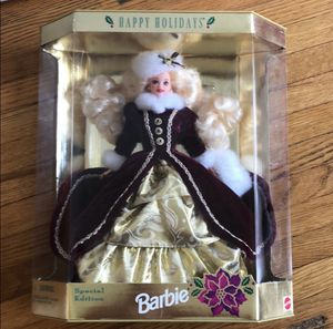 Perfect condition holiday Barbie for Sale in Nashville, TN
