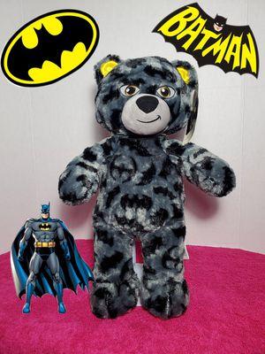 NEW Build a Bear Batman 80th Anniversary DC Comics Plush BABW Stuffed Teddy Toy for Sale in Dale, TX
