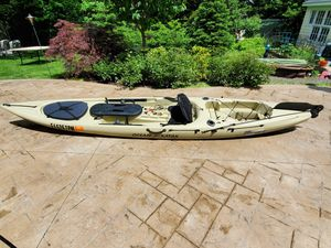 Fishing - Ocean Kayak 14' with Sail Kit, paddle for Sale in Rocky River, OH