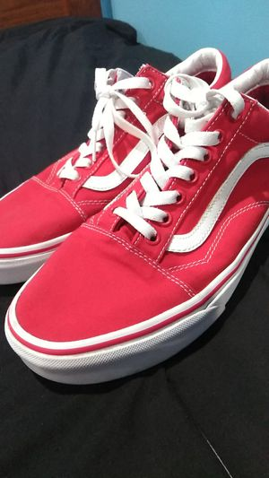 Red vans for Sale in Clayton, NC