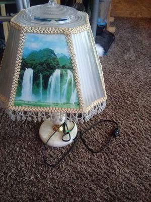 Selling a beautiful waterfall lamp for Sale in Wichita, KS