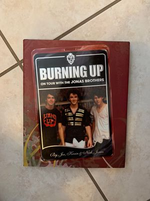 Burning Up on tour with Jonas Brothers Book for Sale in Port Orange, FL