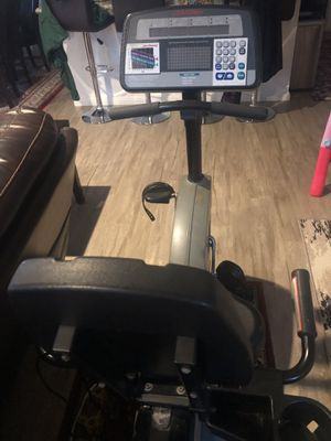 Life fitness exercise cycle for Sale in San Ramon, CA