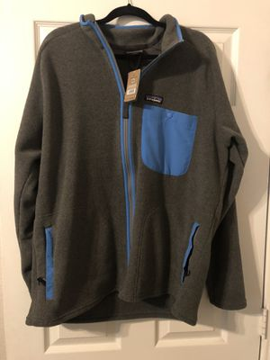 New with tags Patagonia Karstens Jacket Fleece sz Large for Sale in Burleson, TX
