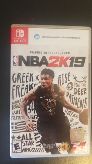 NBA2K19 Nintendo Switch game for Sale in Pittsburgh, PA