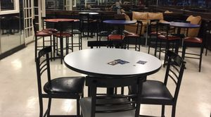 Bar/Restaurant table with 4 chairs for Sale in Stone Mountain, GA