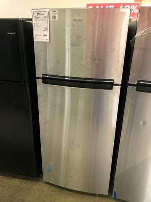 """Brand New! Stainless Steel 28"""" Wide Top Mount Refrigerator Fridge 1 Year Manufacturer Warranty Included for Sale in Chandler, AZ"""