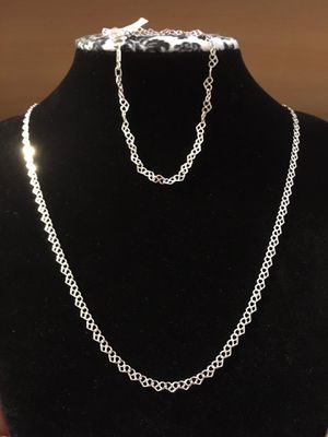 Necklace & Bracelet 925MEX(Authentic) for Sale in Westminster, CA