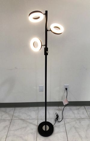 New $30 LED 3-Light Floor Lamp 5ft Tall Adjustable Tilt Lighting Fixture Home Decor Office for Sale in South El Monte, CA
