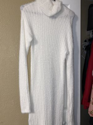 White Nitted Dress for Sale in Winter Haven, FL