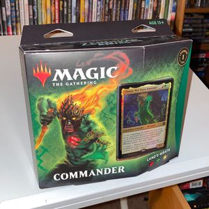 Magic The Gathering Commander Lands Wrath Sealed Christmas Present for Sale in Roseville, CA