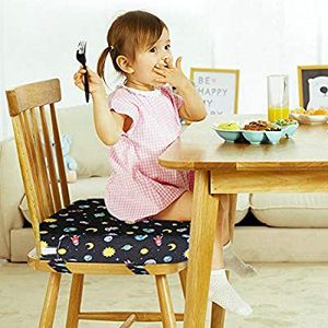 simpletome Chair Booster Seat Cushion Pad for Big Kids with 4 Safety Fixing Straps (Space 5 units abeleble for Sale in City of Industry, CA
