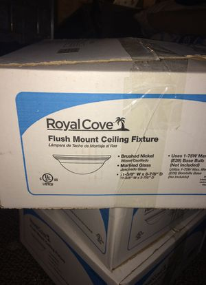 Flush mount ceiling light fixture for Sale in Cleveland, OH
