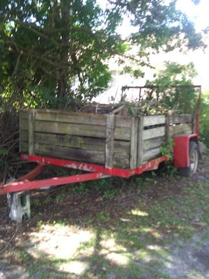Utility trailer with drop ramp for Sale in PT CHARLOTTE, FL