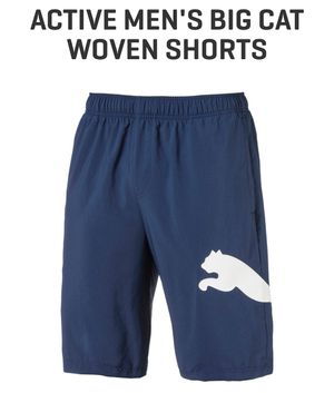ace328787462 Puma Big Cat Woven Shorts for Sale in Shreveport