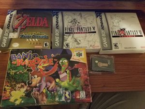 Ps1, n64 and gba games for sale for Sale in Cardington, OH
