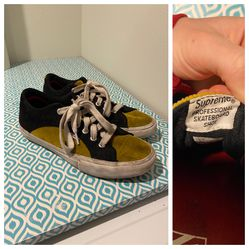 OPEN TO OFFERS Supreme x Vans Croc Suede Mustard Corduroy Lampin Pro Sneakers for Sale in Portland,  OR
