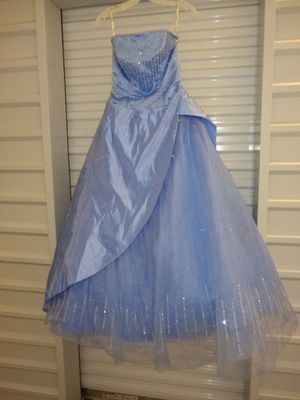 Custom Unique Satin Prom Dress- Homecoming Dress- Quinceanera for Sale in Chicago, IL