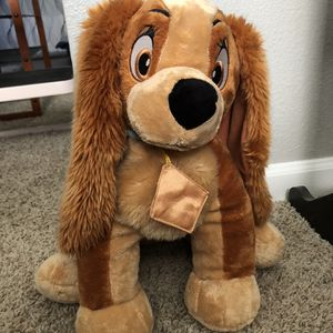 Disney Lady And The Tramp- Lady Stuffed Animal for Sale in Rancho Cucamonga, CA