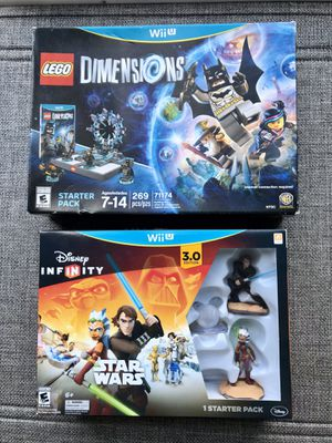 Nintendo Wii U Bundle Lego Dimension and Disney Infinity for Sale in Cranberry Township, PA