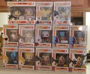 DBZ, Movie, Anime Funko Pops for Sale in Atlanta, GA