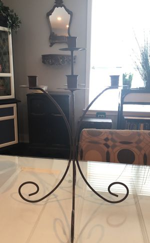Antique brown candle holder for Sale in Philadelphia, PA