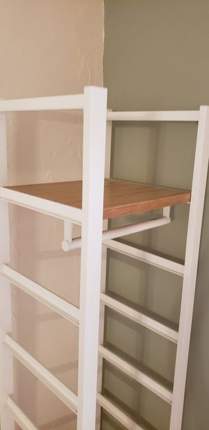 Freestanding Shelving with Closet Rod for Sale in Fort Lauderdale, FL
